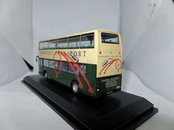 CMNL UKBUS1011 Alexander ALX400 Dennis Trident Bus Newport Transport Torn Box